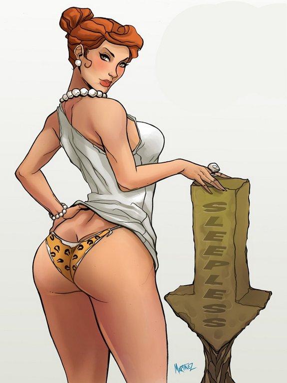 Flintstones Girls In Have All Grown Up